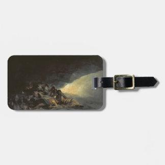 Vagabundos de Francisco Goya- que descansan en una Etiquetas De Maletas