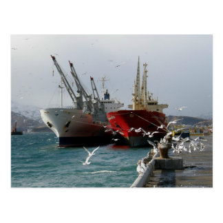 Vagabundos y gaviotas, puerto holandés, AK Tarjeta Postal