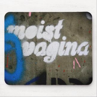 Vagina húmeda mouse pads
