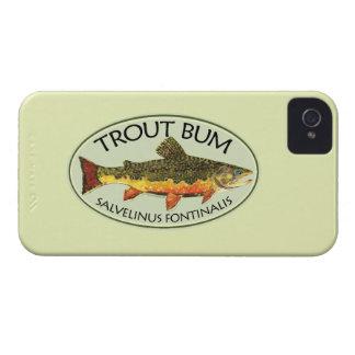 Vago de la pesca de la trucha Case-Mate iPhone 4 protectores