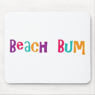 Vago de la playa alfombrilla de raton