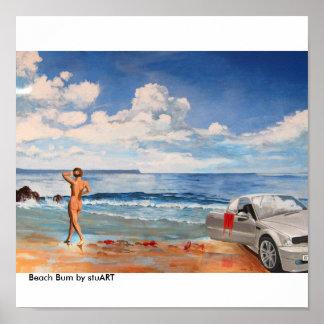 Vago de la playa posters