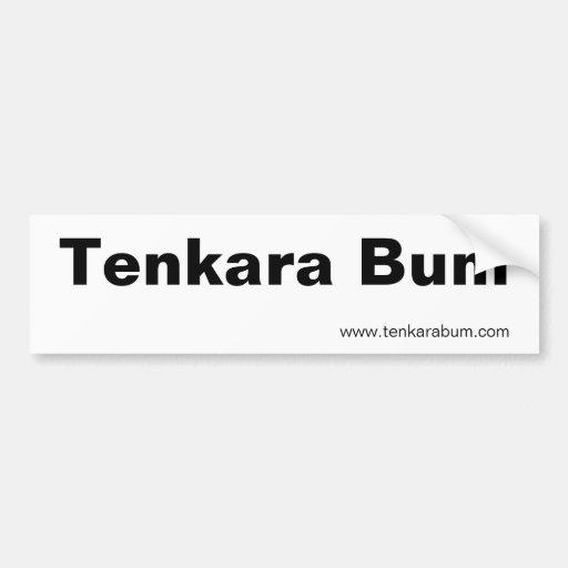 Vago de Tenkara, www.tenkarabum.com Etiqueta De Parachoque
