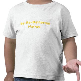 Vago-Vago-Plátanos del niño Camisetas
