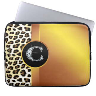 Vagos de la electrónica del leopardo y de la cinta manga portátil