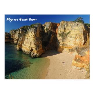 Vagos de la playa de Algarve Postal