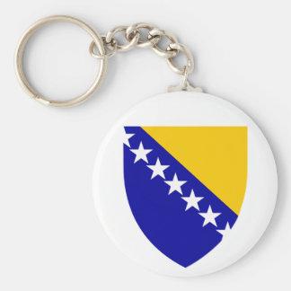 VAGOS del escudo de armas de Bosnia y Herzegovina Llaveros Personalizados