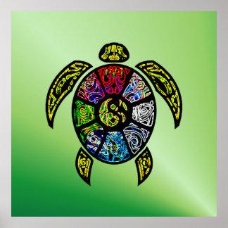 Vagos-Gua de la tortuga Póster