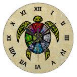 Vagos-Gua de la tortuga Relojes De Pared