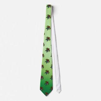 Vagos-Gua de la tortuga tejados Corbatas Personalizadas