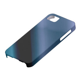 Vague l Blue-Black Abstract iPhone 5 Cover