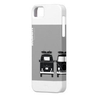 VAGUE POR el autobús de Splitty de la resaca de la iPhone 5 Carcasas