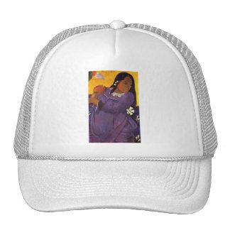 """Vahine ningún gorra de Te VI"" - Paul Gauguin"