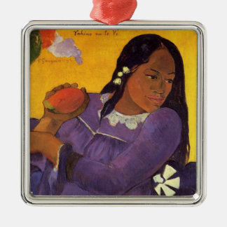 Vahine ningún Te VI - ornamento de Gauguin Ornamento De Navidad