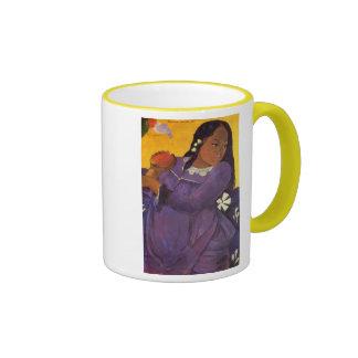 """Vahine ninguna taza de Te VI"" - Paul Gauguin"