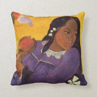Vahine No Te Vi - Paul Gauguin Pillow