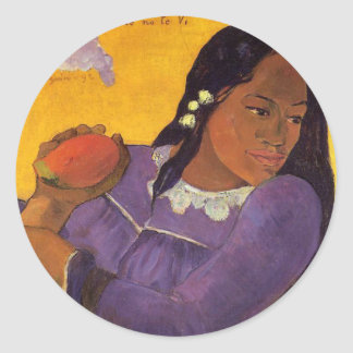 'Vahine No Te Vi' - Paul Gauguin Sticker