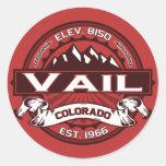 Vail Color Logo Sticker