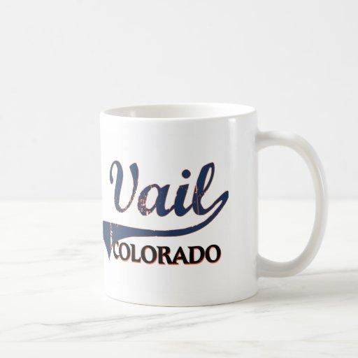 Vail Colorado City Classic Coffee Mugs