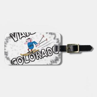 Vail Colorado - con Clive Etiqueta De Maleta