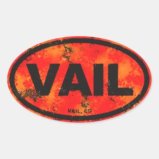 Vail Colorado Oval Sticker