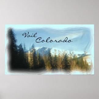Vail Colorado poster