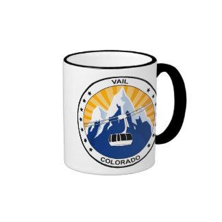 Vail Colorado Ringer Mug