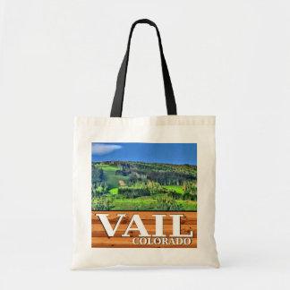 Vail Colorado rustic scenic souvenir bag