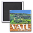 Vail Colorado scenic rustic sign magnet