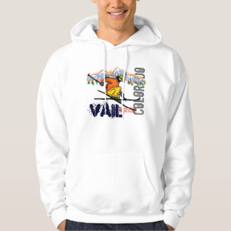 Vail Colorado ski elevation hoodie