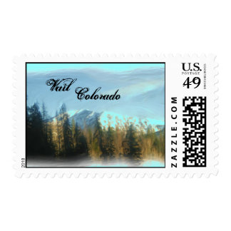 Vail Colorado stamp