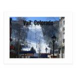 Vail, Colorado Tarjeta Postal