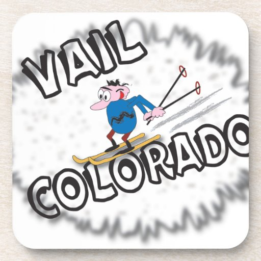 Vail Colorado - with Clive Drink Coasters