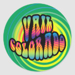 Vail Hippy Trippy Sticker
