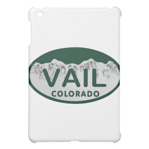 Vail license oval iPad mini cover