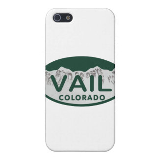 Vail license oval iPhone 5 cover