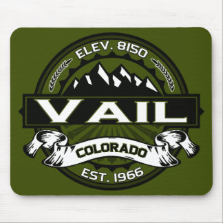 Vail Olive Logo Mouse Pad