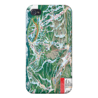vail trail map iPhone 4 cover