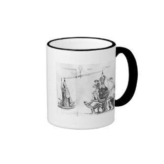 Vain efforts of the Ultras, 1819 Ringer Mug