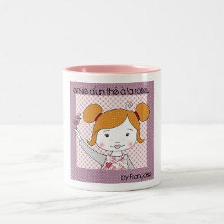 vain miss Two-Tone coffee mug