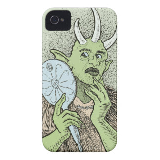 Vain Ogre with Hand Mirror Case-Mate iPhone 4 Case