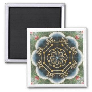 Vaina de Lotus Imán Cuadrado