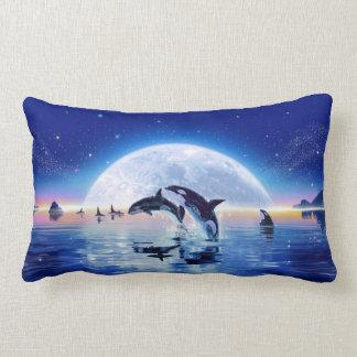 Vaina de orcas cojín