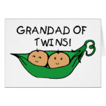 Vaina gemela del Grandad Tarjetas