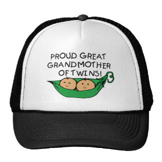 vaina orgullosa del gemelo de la bisabuela gorro de camionero