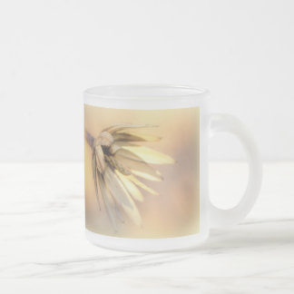 Vaina vacía de la semilla del álamo de tulipán taza cristal mate
