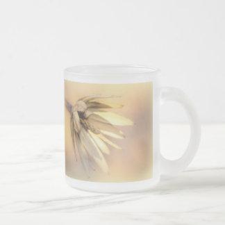 Vaina vacía de la semilla del álamo de tulipán taza de cristal