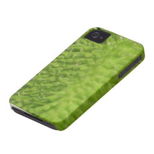 Vaina verde iPhone 4 Case-Mate carcasa
