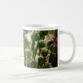 Vainas de la semilla de flor de la amapola taza