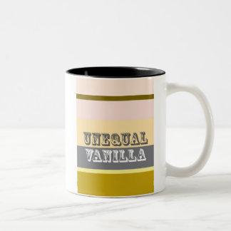"""""""Vainilla desigual """" Tazas De Café"""